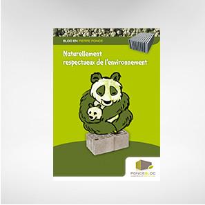 Poncebloc – Affiche panda