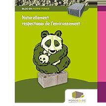 Poncebloc concept graphique affiche panda
