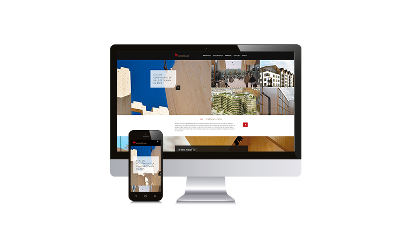 Woodeum création site internet