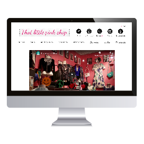 That Little Pink Shop – Site internet